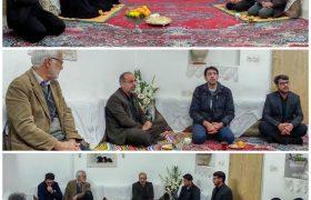 دیدار دکتر میرمحمدی با خانواده داغدیده میبدی در سقوط هواپیمای اکراینی