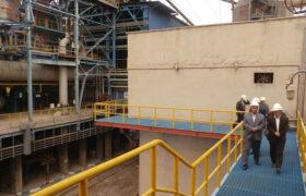 گزارش تصویری از بازدید دکتر میرمحمدی و فرماندار میبد از کارخانه فولاد