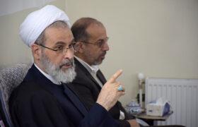 آیت الله اعرافی: شهادت می دهم دکتر میرمحمدی فردی مدیر، قوی، سالم و پای کار انقلاب بوده است + تصاویر