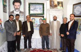 گزارش تصویری از دیدار منتخب مردم از خانواده مرحوم یحییزاده