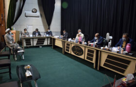 برگزاری جلسه سه ساعته با شهردار و اعضای شورای شهر میبد