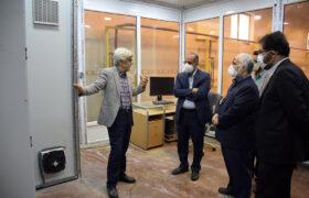 دکتر میرمحمدی از تنها کارخانه تولید پروکسید کشور در میبد بازدید کرد