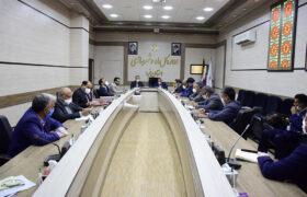 جلسه دکتر میرمحمدی با فرمانده انتظامی استان و مدیرکل راه و شهرسازی