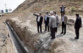 جلسه دکتر میرمحمدی با شهردار تفت و بازدید از قنوات و مسیل های روستاهای تفت