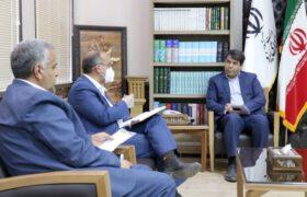 دکتر میرمحمدی در جلسات جداگانه فرمانداران میبد و تفت با استاندار یزد