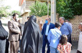 بازدید از روستاهای دهستان سخوید تفت
