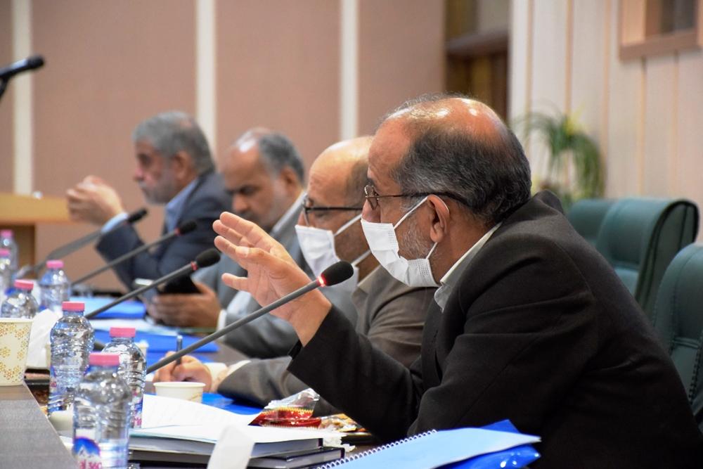 جلسه کارشناسی مجمع نمایندگان استان یزد با تعدادی از مدیران اجرایی