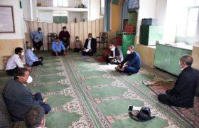 دیدار با دهیاران و اعضای شورای تعدادی از روستاهای تفت