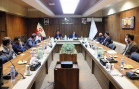 جلسه با شورای معاونین سازمان مدیریت و برنامه ریزی استان یزد