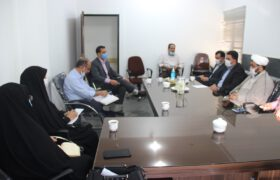 تشکیل جلسه موسسه خیریه بیمارستان میبد با حضور دکتر میرمحمدی