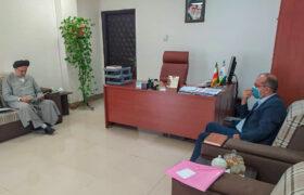 دیدار و گفتگو با رئیس سازمان اوقاف و امور خیریه کشور درباره موقوفه های حوزه انتخابیه