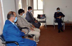 بررسی وضعیت پروژه اورژانس و دستگاه MRI بیمارستان شهید بهشتی تفت در دو جلسه