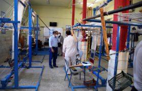 بازدید از سه مجموعه فعال اقتصادی در شهیدیه میبد