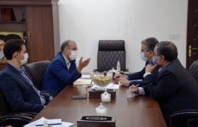 بررسی موضوع معادن تفت در جلسه با مدیرکل صمت استان یزد