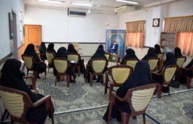دیدار و گفتگو با مدیران سطوح مختلف حوزه خواهران میبد