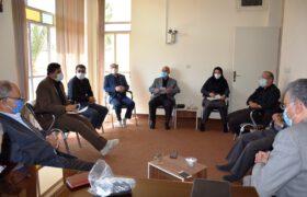 جلسه کارگروه خیریه بیمارستان شهید بهشتی تفت برگزار شد