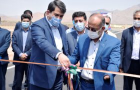 افتتاح پروژه های عمرانی و ورزشی شهرستان تفت