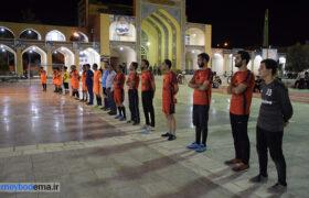 حضور در افتتاحیه مسابقات فوتسال به مناسبت هفته دفاع مقدس