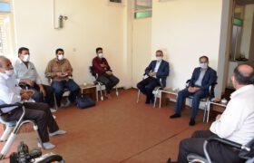 پیگیری مسائل مرتبط با معادن روستای کردآباد