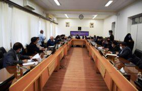 حضور دکتر میرمحمدی در شورای معادن استان یزد