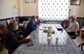 بازدید دکتر میرمحمدی از اداره تبلیغات اسلامی میبد