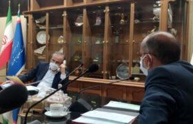 جلسه با وزیر صنعت، معدن و تجارت جهت بررسی مسائل مرتبط با حوزه انتخابیه