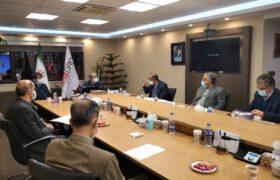جلسه دکتر میرمحمدی با رئیس ایمیدرو جهت تعین تکلیف فولاد میبد