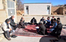 بازدید دکتر میرمحمدی از تعدادی از روستاهای تفت