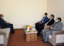 جلسه با مدیرکل امور دارایی استان یزد
