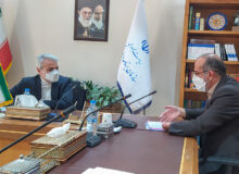 جلسه با معاون رئیس جمهور و بررسی مسائل مرتبط با برنامه و بودجه