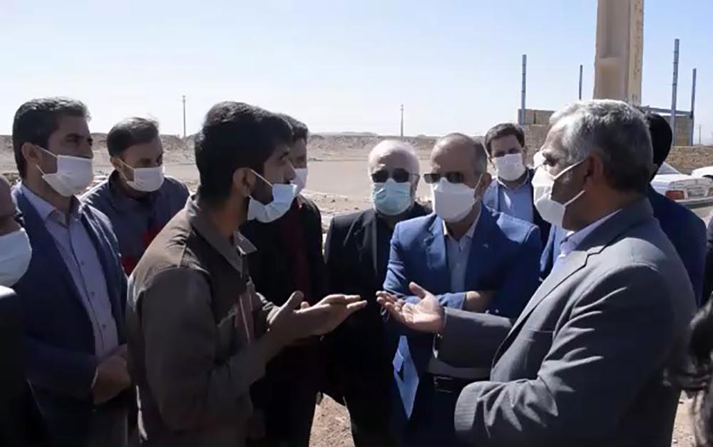 فیلم/ بررسی مشکلات شهرک تلاشگران میبد