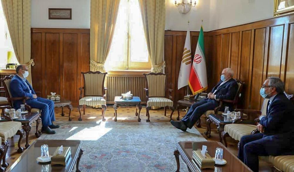 دیدار دکتر میرمحمدی با وزیر امور خارجه در پی طرح سوال از وی