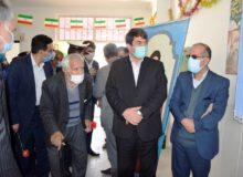 افتتاح پروژه های عمرانی در میبد به مناسبت دهه فجر + کلیپ