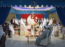 فیلم/ برگزاری جشن ازدواج چهارده زوج میبدی
