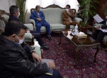 پیگیری تسهیلات از بانک ملی مرکزی برای آبفا و برق منطقه ای استان یزد