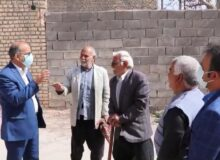 بازدید و بررسی مشکلات روستای سعدآباد تفت + فیلم