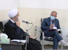 حضور در نشست شورای آموزش و پرورش میبد+ تصاویر