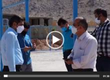 بازدید و بررسی مشکلات روستای پندر تفت+ فیلم