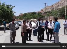 بازدید از روستای سنگدراز تفت+ فیلم