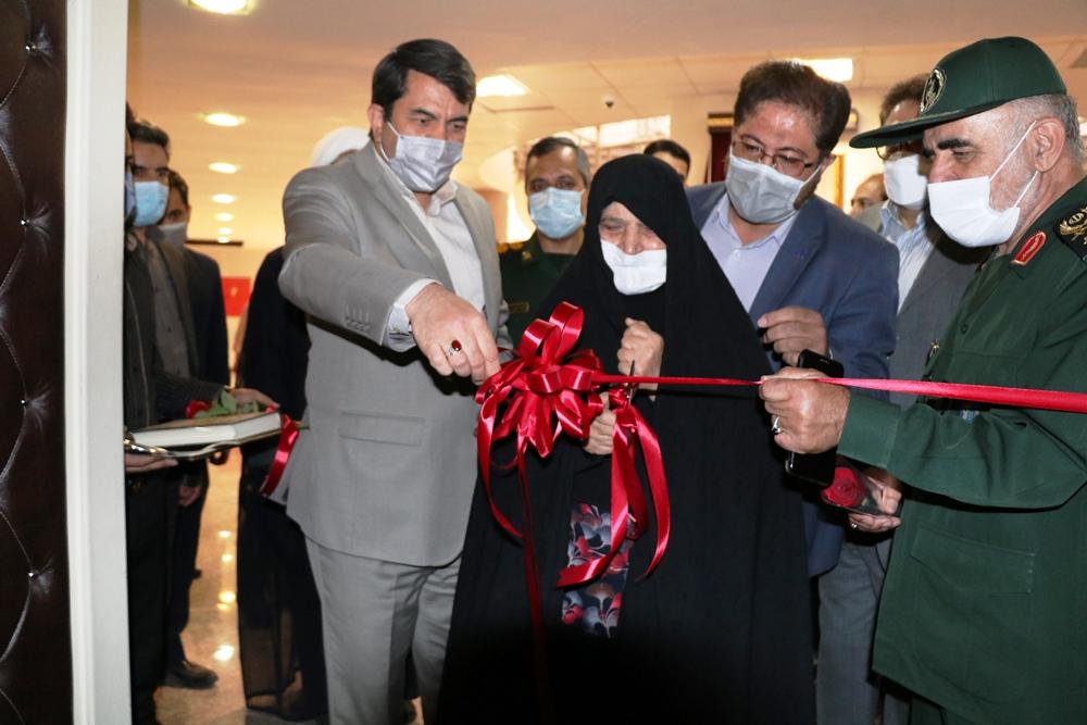 حضور در مراسم افتتاح سالن همایش سردار شهید فیض+ عکس