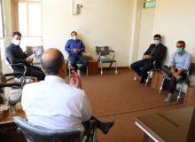 دیدار و گفتگو با منتخبین شورای شهر تفت+ عکس