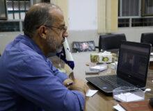 برگزاری نشست مجازی با مردم شهر بفروئیه+ عکس
