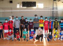 بازدید از تمرین تیم والیبال نوجوانان میبد+ عکس